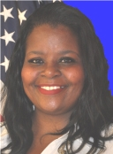 Village Trustee Antoinette Dorris