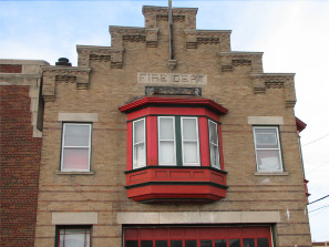 Maywood's First Fire Station