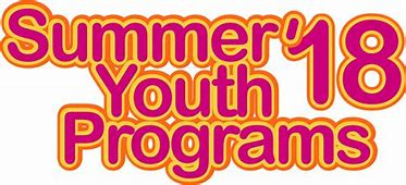 Summer '18 Youth Programs